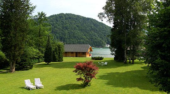 wolfgangsee ferienwohnung direkt am see